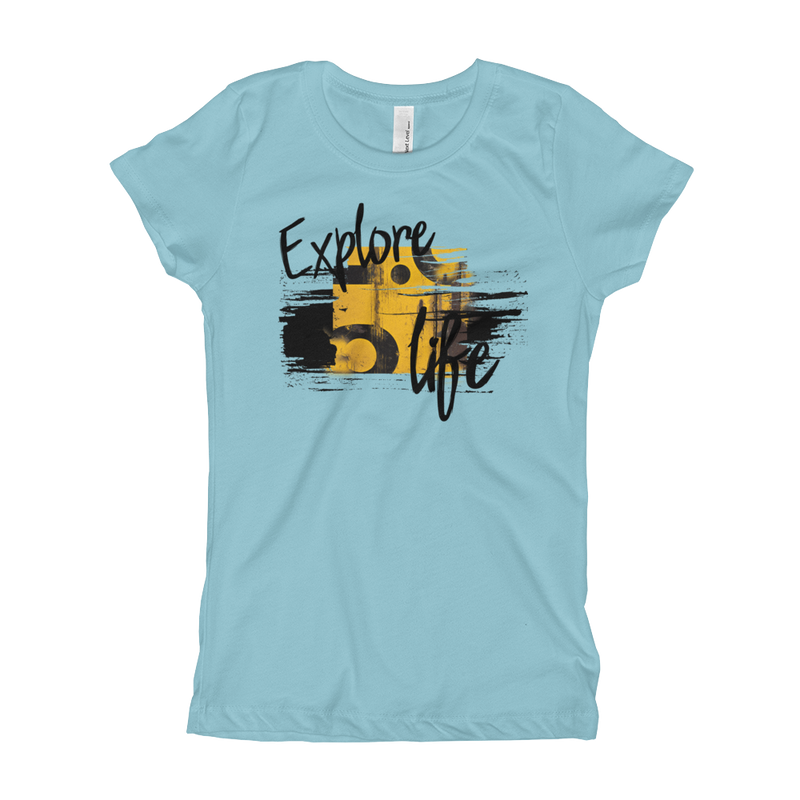 Explore Life004 Next Level 3710 Girl's The Princess Tee with Tear Away Label