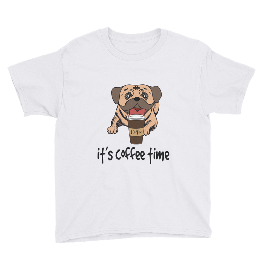 Its Coffee Time20 Youth Short Sleeve T-Shirt