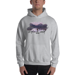 Explore The World002 Hoodie Gildan 18500 Unisex Heavy Blend Hooded Sweatshirt