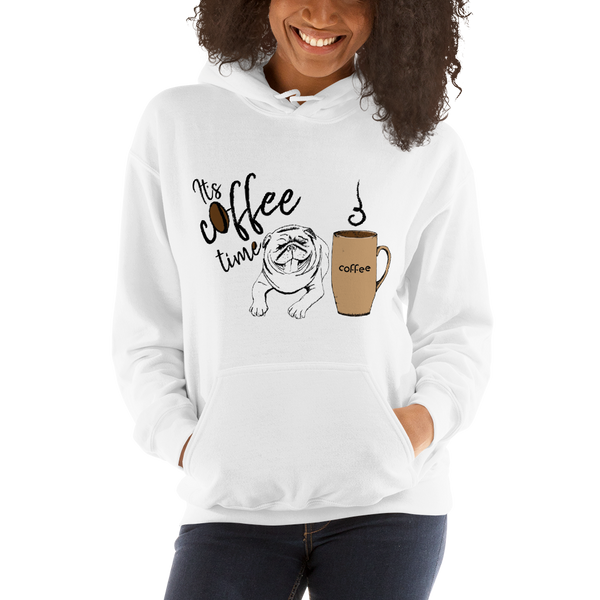 Its Coffee Time055 Hooded Sweatshirt