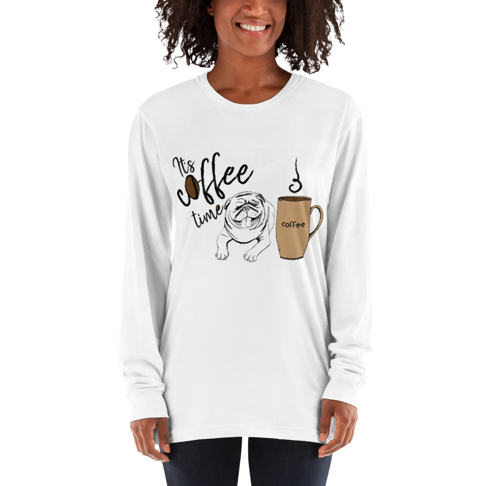Its Coffee Time055 Long sleeve t-shirt