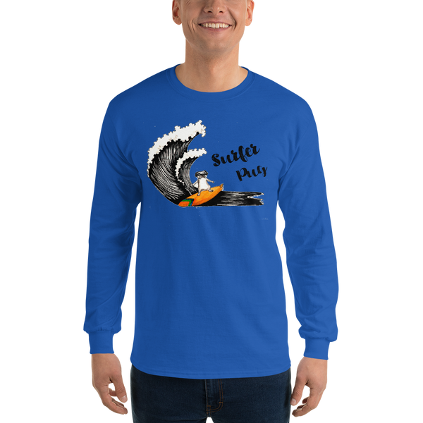 It's Surfing Time03 Gildan 2400 Ultra Cotton Long Sleeve T-Shirt