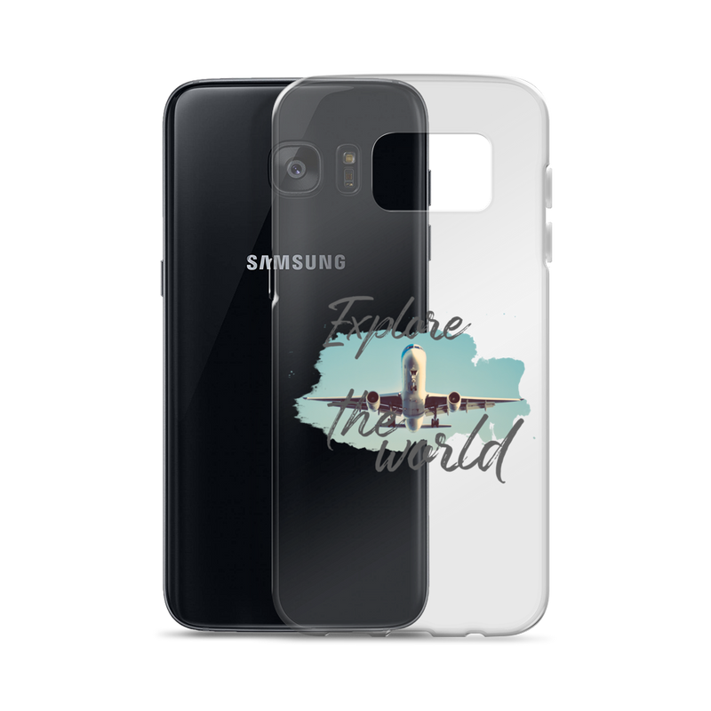 Explore The World001 Samsung Case - libitalux