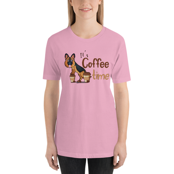 Its Coffee Time041 Short-Sleeve Unisex T-Shirt