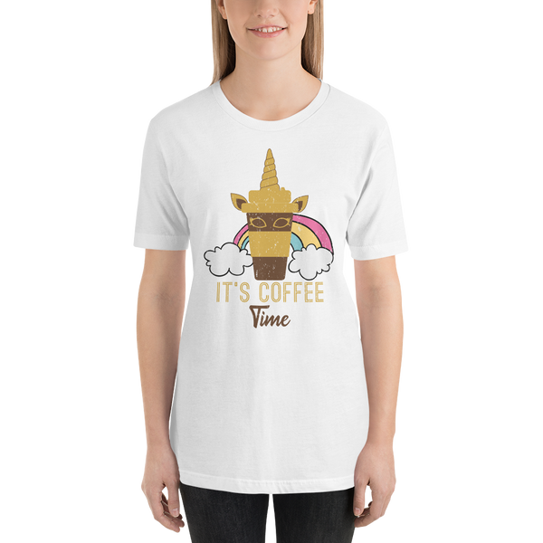 Its Coffee Time035 Short-Sleeve Unisex T-Shirt