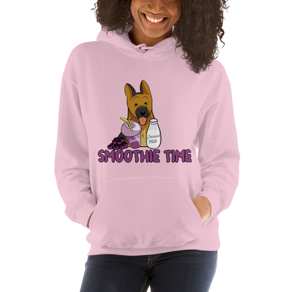 It's smoothie time07 Gildan 18500 Unisex Heavy Blend Hooded Sweatshirt Heavy blend