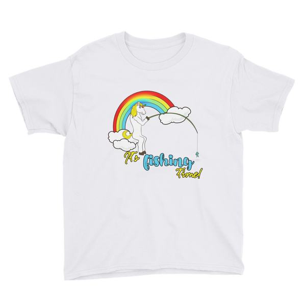 it's fishing time!01 Youth Short Sleeve T-Shirt