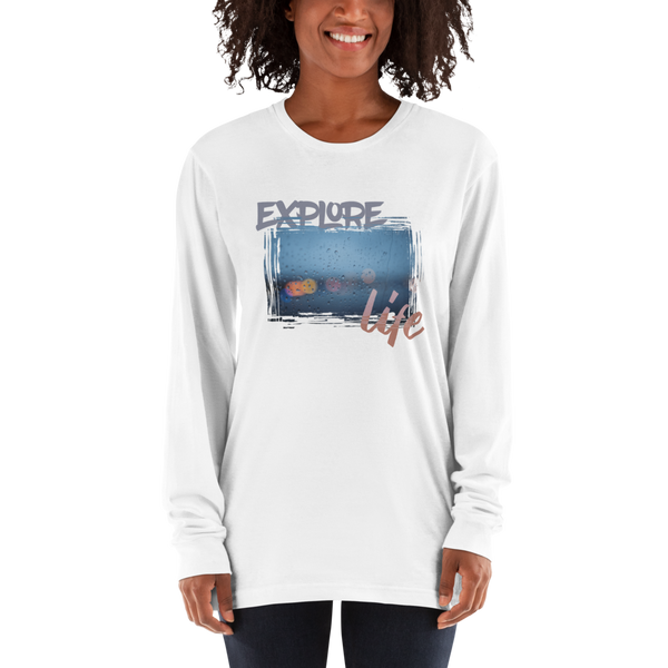 Explore Life001 Long sleeve t-shirt