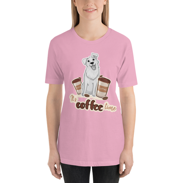 Its Coffee Time046 Short-Sleeve Unisex T-Shirt