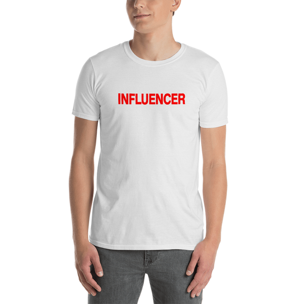 Influencer0142 Gildan 64000 Unisex Softstyle T-Shirt with Tear Away Label