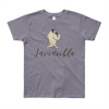 Invincible010 American Apparel 2201W Youth Fine Jersey Short Sleeve T-Shirt