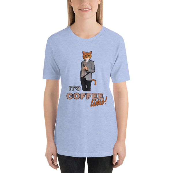 Its Coffee Time044 Short-Sleeve Unisex T-Shirt