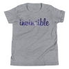 Invincible006 Bella + Canvas 3001Y Youth Short Sleeve Tee with Tear Away Label