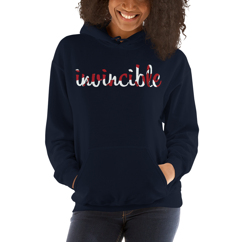 Invincible012 Gildan 18500 Unisex Heavy Blend Hooded Sweatshirt