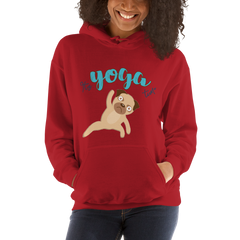 It's Yoga Time019 Gildan 18500 Unisex Heavy Blend Hooded Sweatshirt Heavy blend