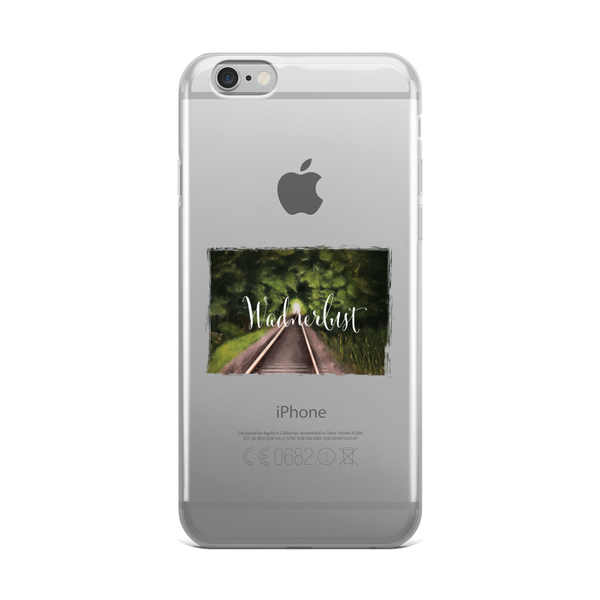 Wanderlust103 iPhone Case