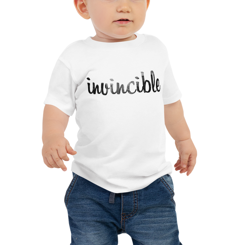 Invincible016 Bella + Canvas 3001B Baby Jersey Short Sleeve Tee with Tear Away Label