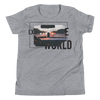 Explore The World0017 Bella + Canvas 3001Y Youth Short Sleeve Tee with Tear Away Label