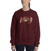 Explore The World0014 Gildan 18000 Unisex Heavy Blend Crewneck Sweatshirt