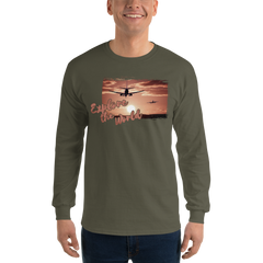Explore The world0012 Long Sleeve Gildan 2400 Ultra Cotton Long Sleeve T-Shirt