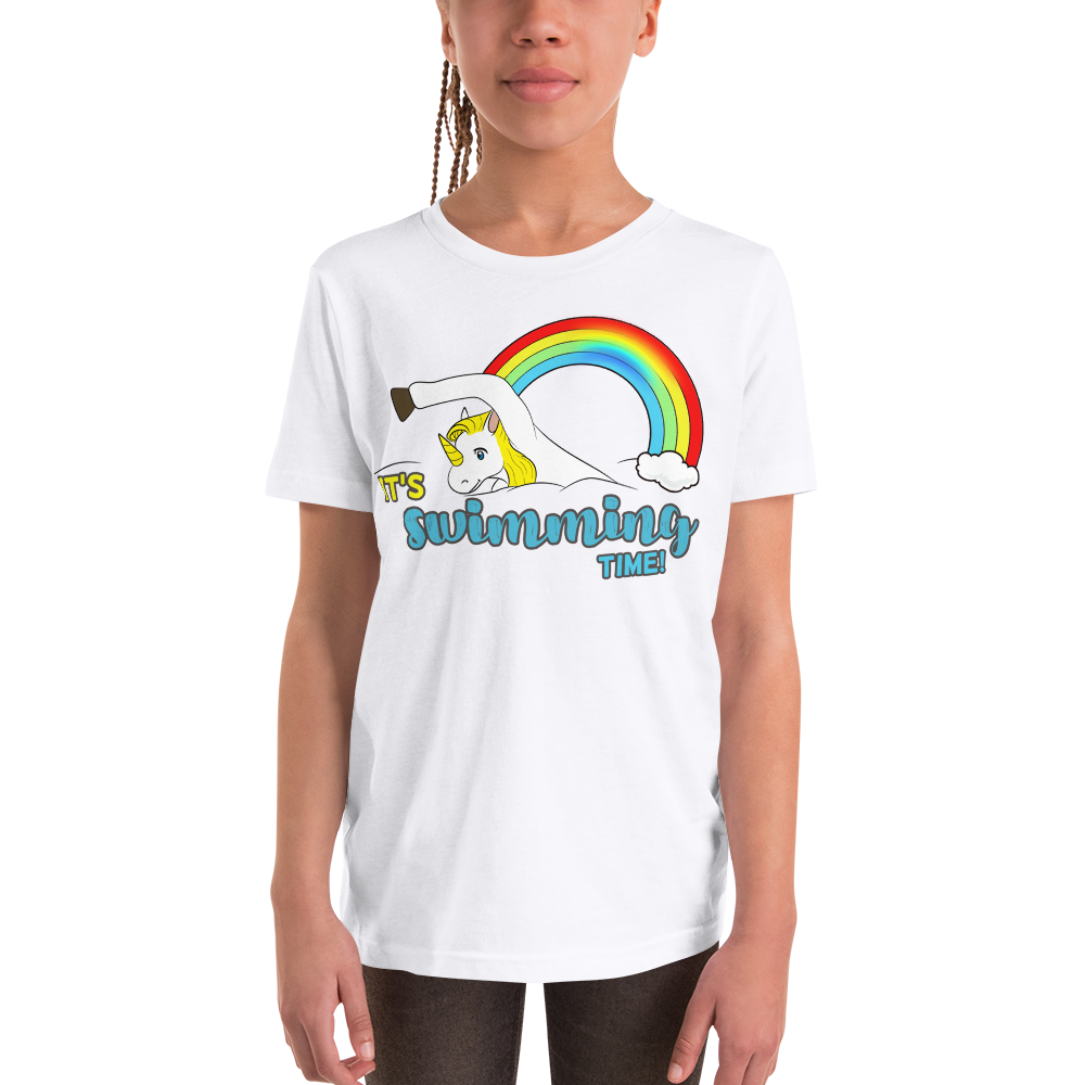 It's Swimming Time03 Youth Short Sleeve T-Shirt