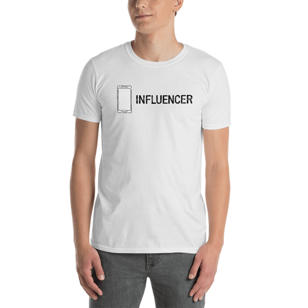 Influencer0166 Gildan 64000 Unisex Softstyle T-Shirt with Tear Away Label
