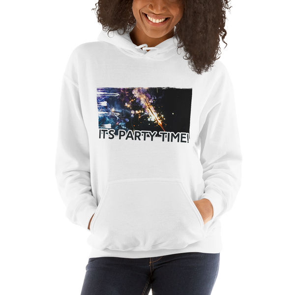 It's Party Time! Women Hoodies