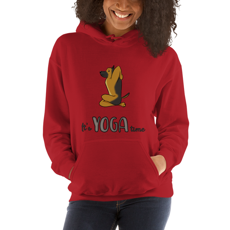 It's Yoga Time020 Gildan 18500 Unisex Heavy Blend Hooded Sweatshirt Heavy blend