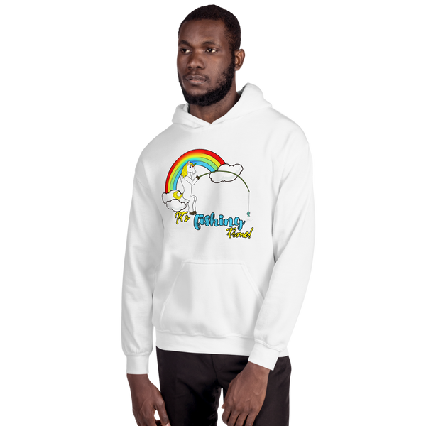It's Fishing Time01 Gildan 18500 Unisex Heavy Blend Hooded Sweatshirt