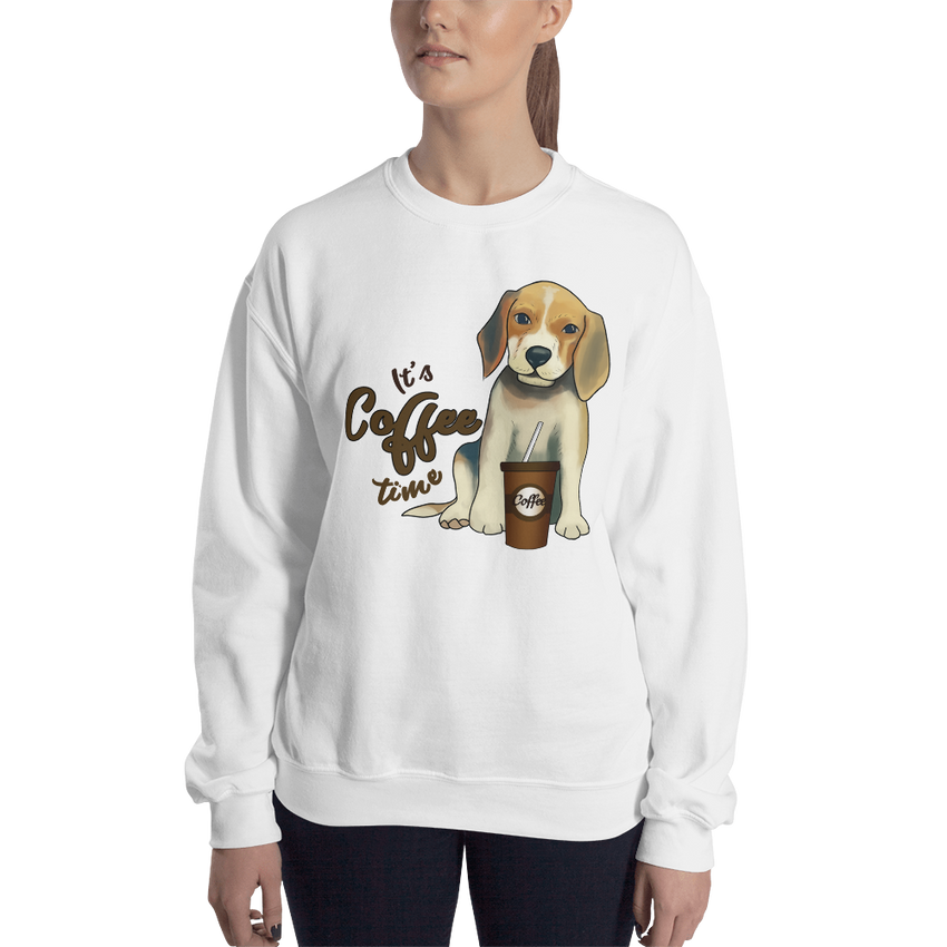 Its Coffee Time016 Sweatshirt