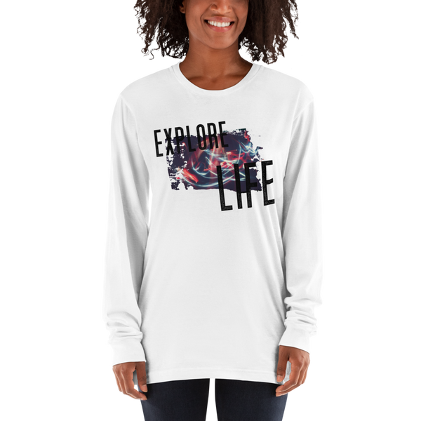 Explore Life002 Long sleeve t-shirt
