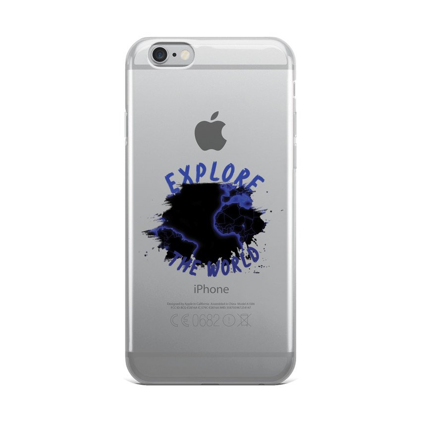 Explore The World0010 iPhone Case