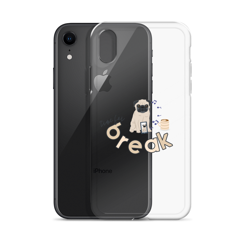 It's Break Time005 iPhone Case