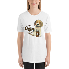 Its Coffee Time016 Short-Sleeve Unisex T-Shirt