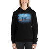 Explore The World0028  Bella + Canvas 3719 Unisex Fleece Pullover Hoodie