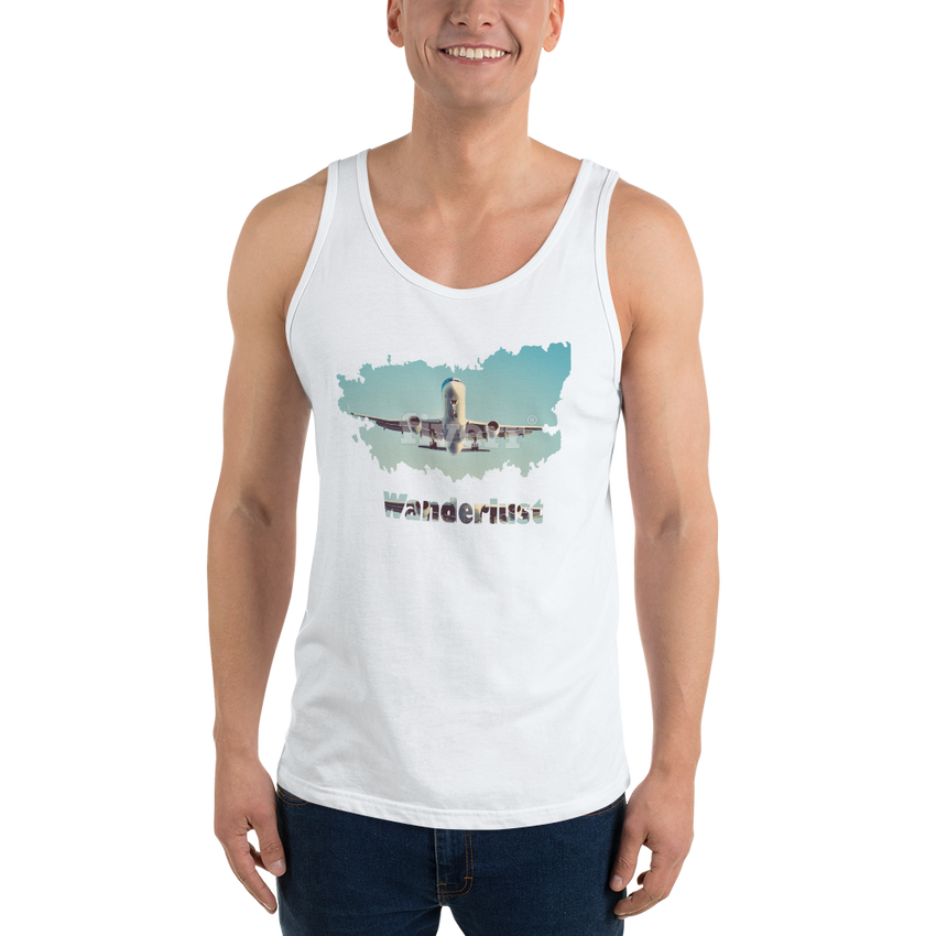 Wanderlust59 Bella + Canvas 3480 Unisex Jersey Tank with Tear Away Label