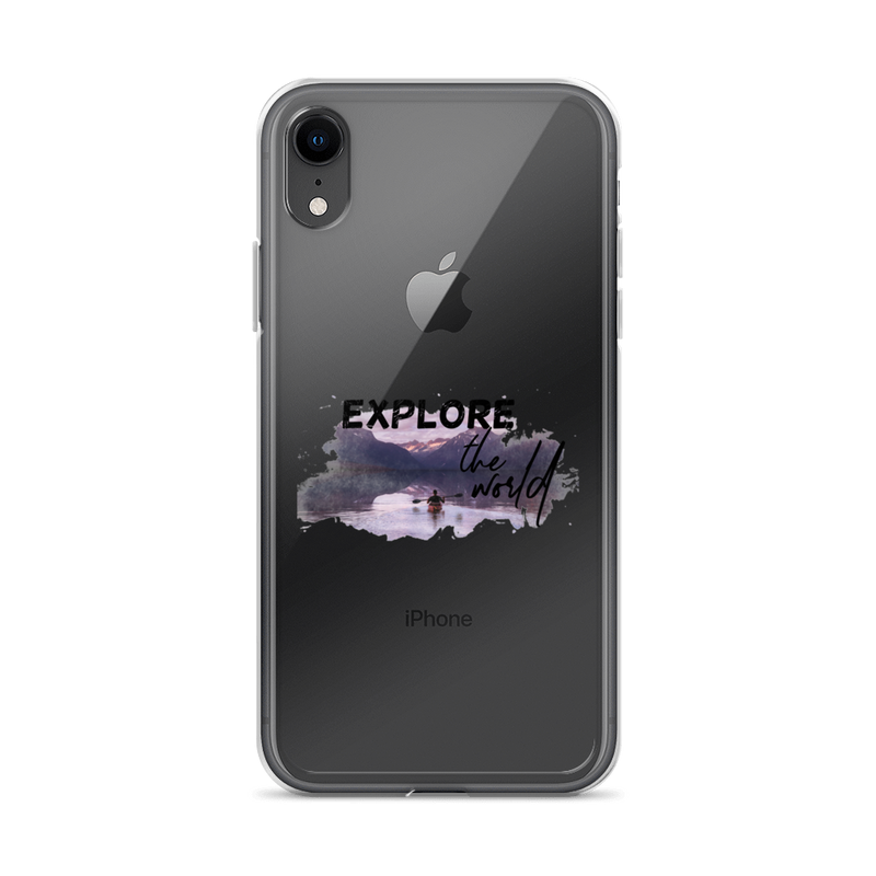 Explore The World004 iPhone Case - libitalux