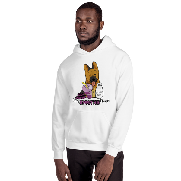 It's smoothie time11 Gildan 18500 Unisex Heavy Blend Hooded Sweatshirt