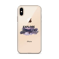 Explore The World006 iPhone Case