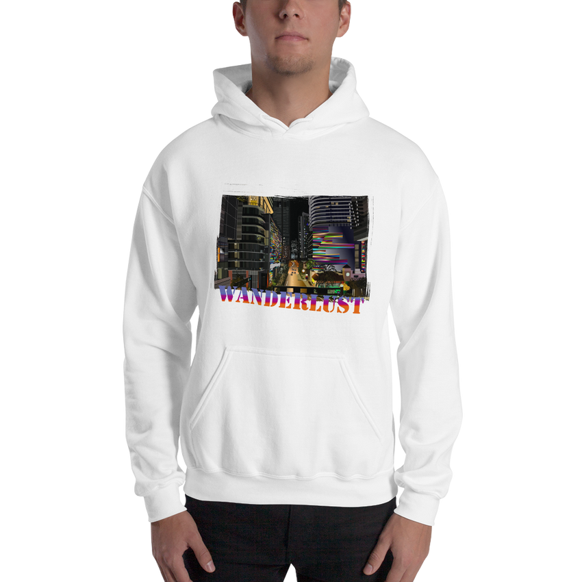 Wanderlust33 Gildan 18500 Unisex Heavy Blend Hooded Sweatshirt