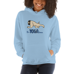 It's Yoga Time013 Gildan 18500 Unisex Heavy Blend Hooded Sweatshirt Heavy blend