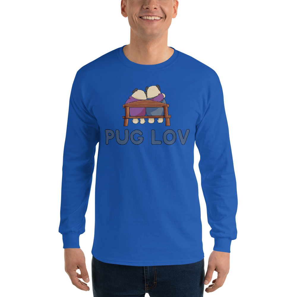 Pug Love12 Gildan 2400 Ultra Cotton Long Sleeve T-Shirt