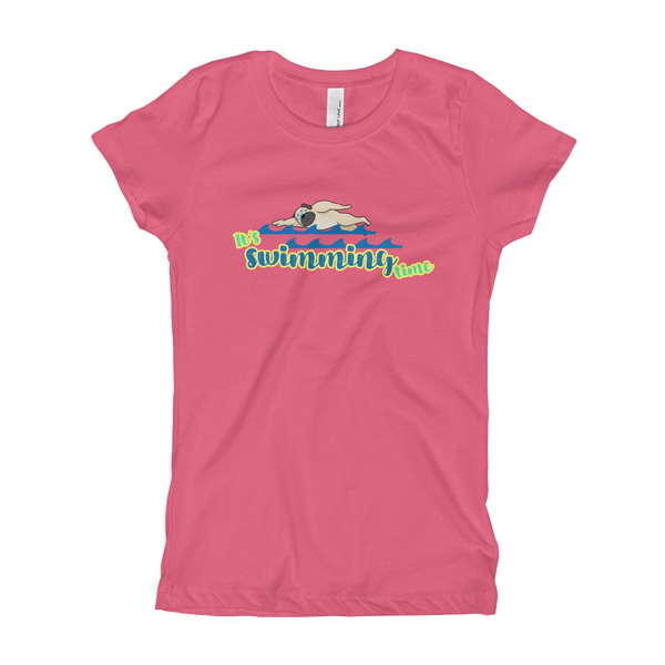 It's Swimming Time02 Girl's T-Shirt