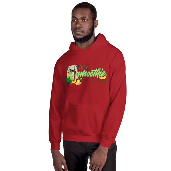 It's smoothie time10 Gildan 18500 Unisex Heavy Blend Hooded Sweatshirt