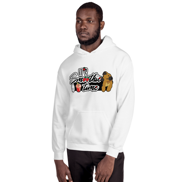 It's smoothie time08 Gildan 18500 Unisex Heavy Blend Hooded Sweatshirt
