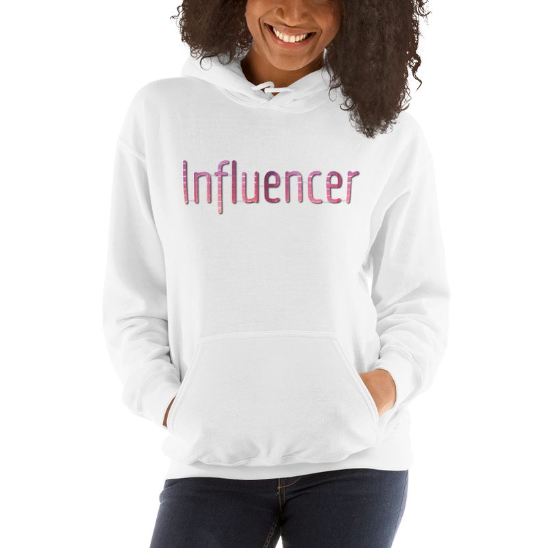 Influencer009 Gildan 18500 Unisex Heavy Blend Hooded Sweatshirt