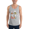Cat Love001 Unisex Tank Top - libitalux
