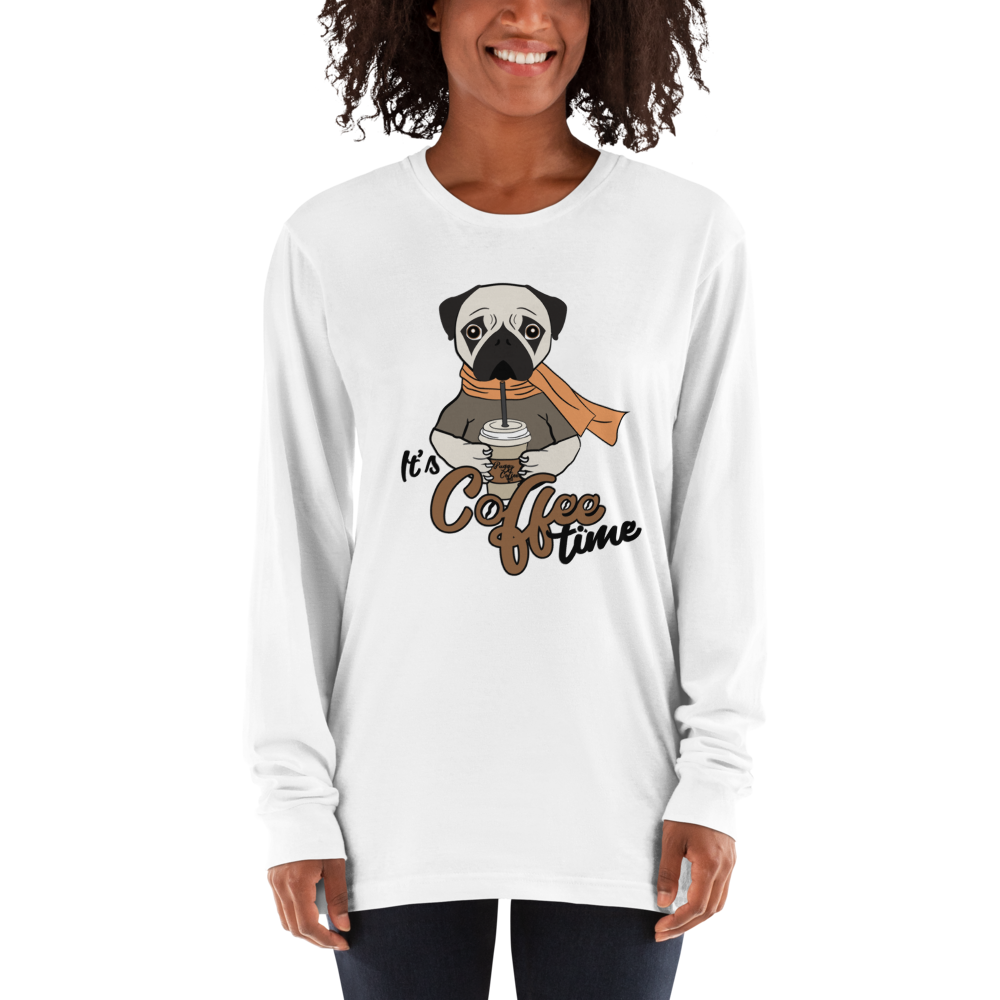 Its Coffee Time031 Long sleeve t-shirt