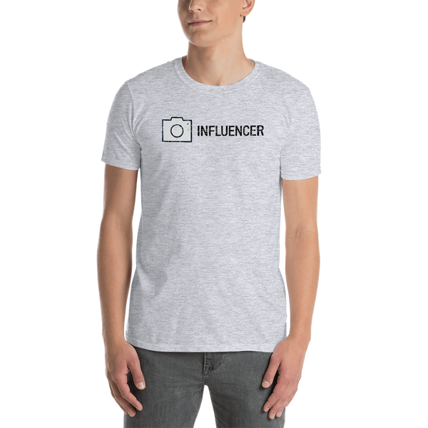 Influencer0151 Gildan 64000 Unisex Softstyle T-Shirt with Tear Away Label