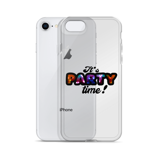Its Party Time10 iPhone Case